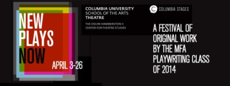 "Rebecca Nichloson, ""New Plays Now"" at Columbia University"