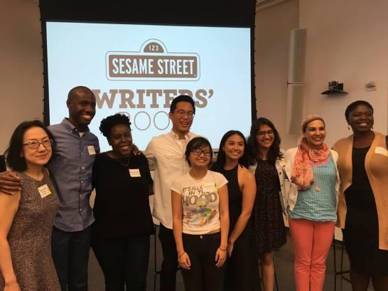 Rebecca Nichloson, Sesame Street Writers Room 2017